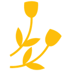 yellow flower icon